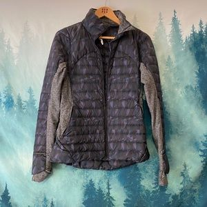 Lululemon Athletica puffer sweatshirt style jacket